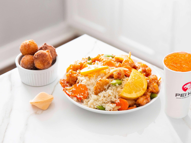 Pei wei cauliflower rice
